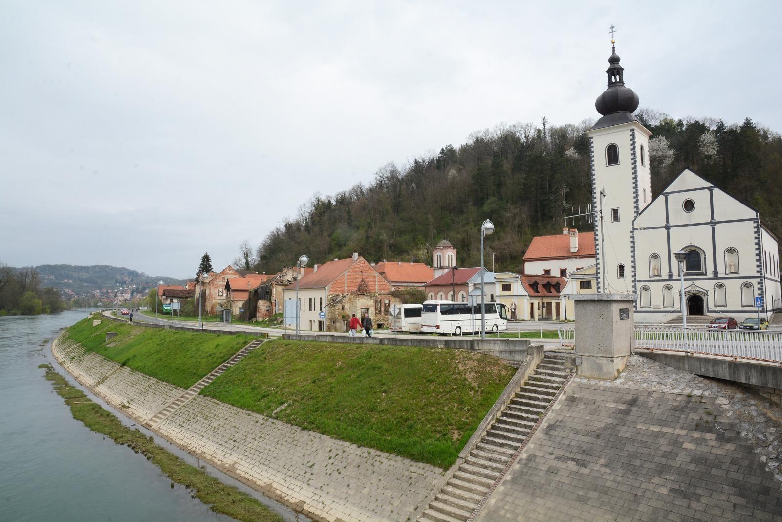 Započinje rekonstrukcija Trga Nikole Šubića Zrinskog u Hrvatskoj Kostajnici
