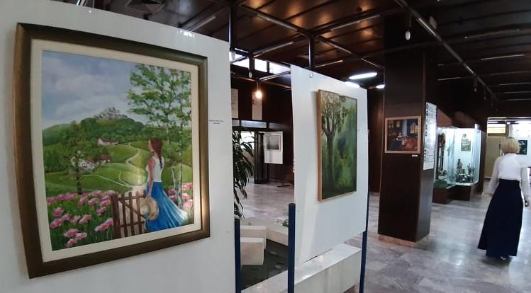 """Između snova i uspomena – otvorena nova izložba PULS-a """"Moslavački štrk"""""""