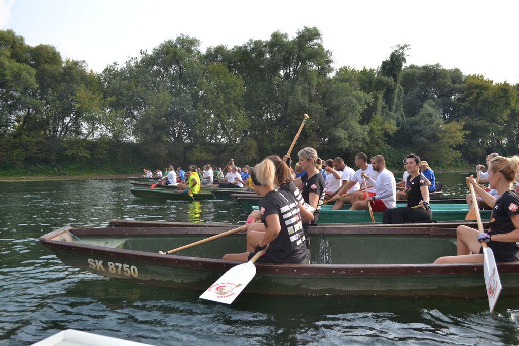 Rekordan broj posada na ovogodišnjoj utrci kupskih čamaca Stari Brod-Letovanić
