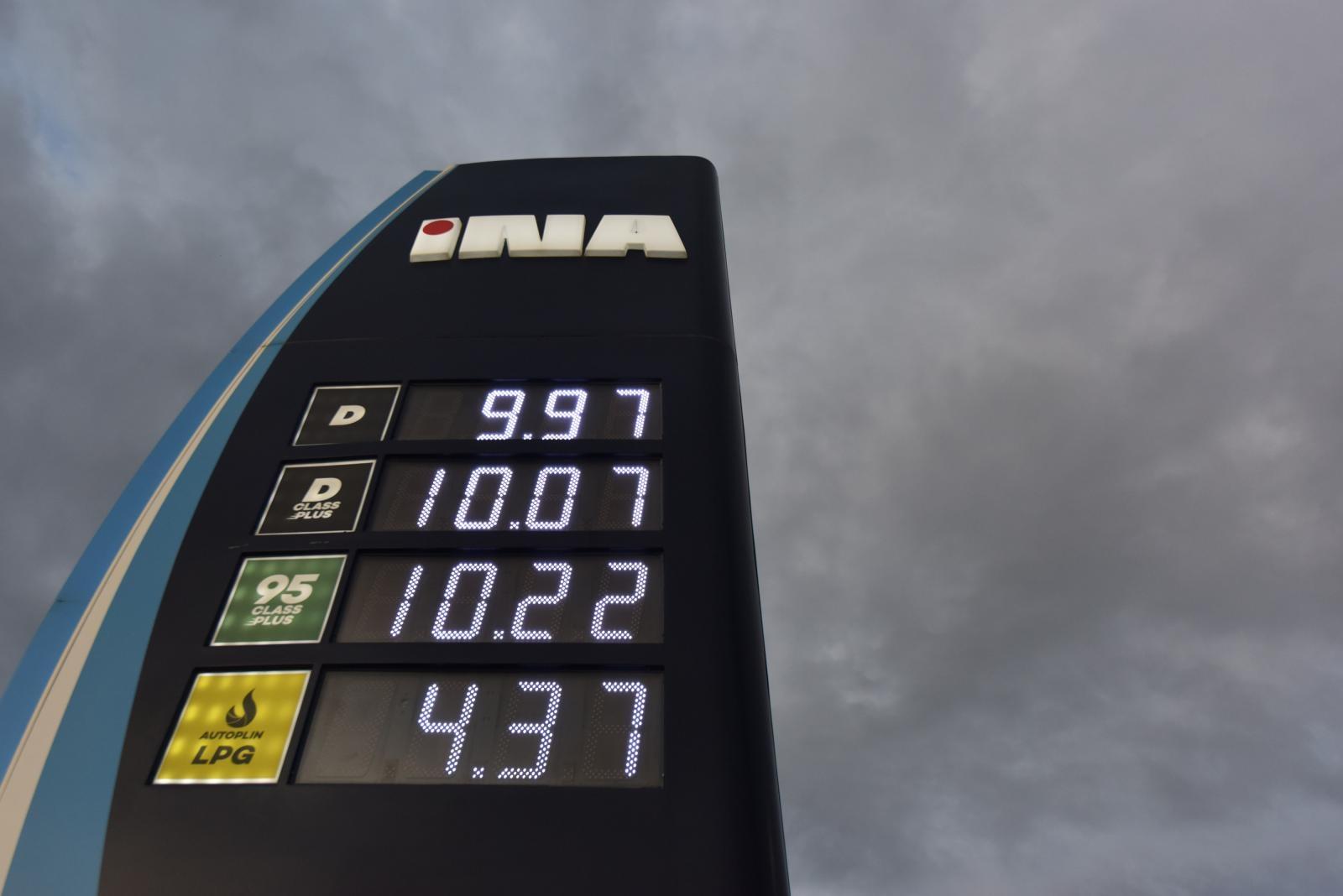 Novi porast cijena goriva u Hrvatskoj