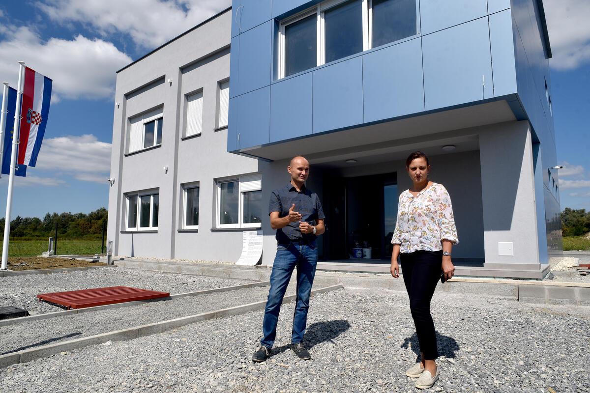 U listopadu se otvara prvi poslovni objekt u Poduzetničkoj zoni Novska