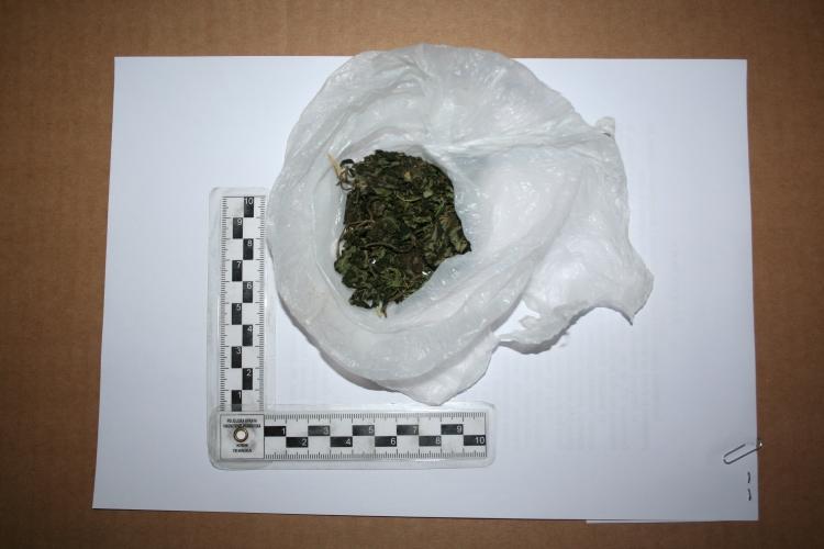 U automobilu 52-godišnjaka pronađeno 22 grama marihuane i joint