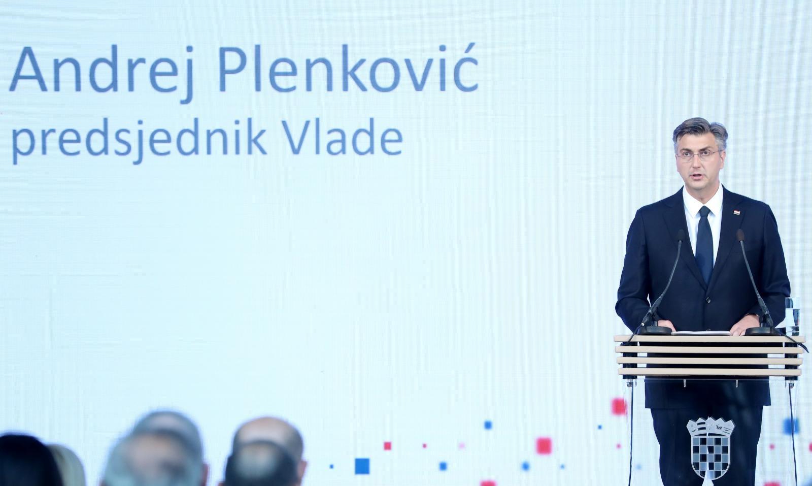 Premijer predstavio prioritete hrvatskog predsjedavanja Vijećem EU