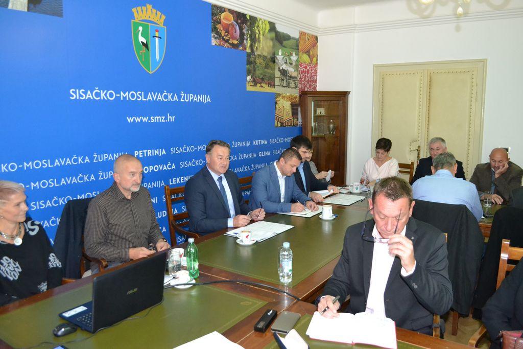 Župan održao sastanak s gradonačelnicima i načelnicima općina