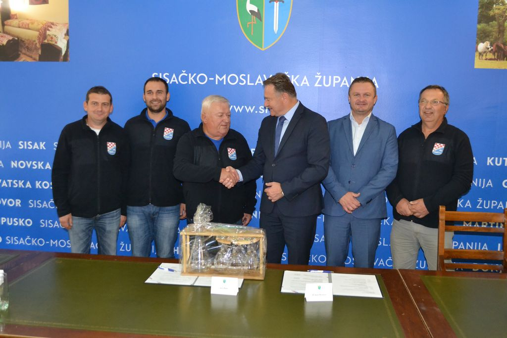 Župan Žinić ugostio predstavnike Športsko-ribolovne udruge Bjelka