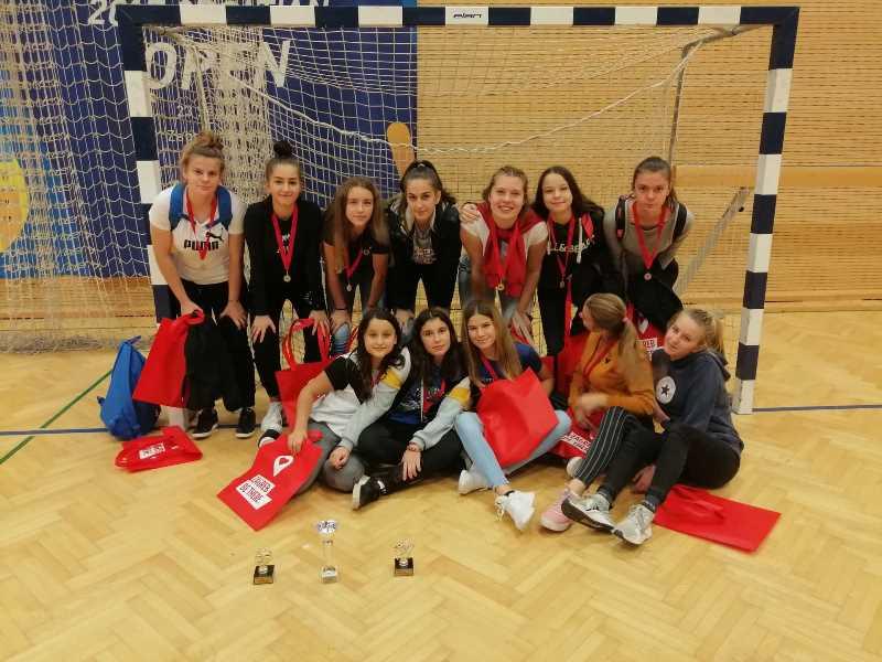 Nogometašice Dinama i Mladosti u Zagrebu osvojile treće mjesto