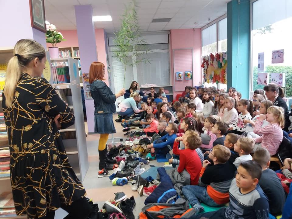 Spisateljica Gordana Lukačić gostovala u popovačkoj Knjižnici