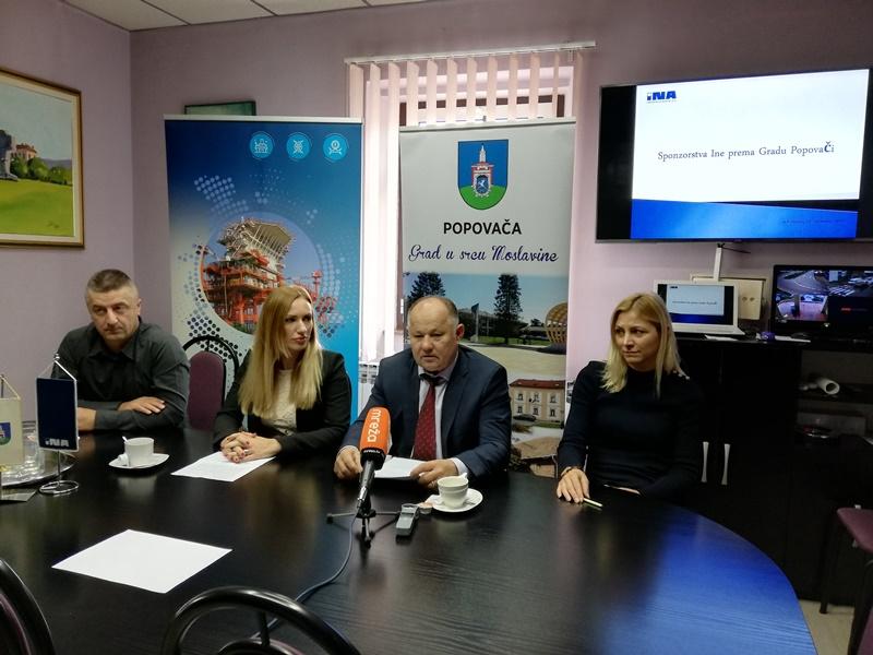 INA u projekte na području Popovače uložila 40 tisuća kuna