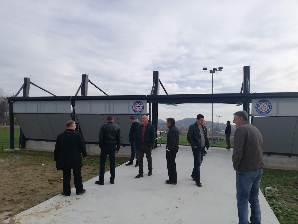 Nove tribine u Športskom parku Moslavac spremne su za prve navijače