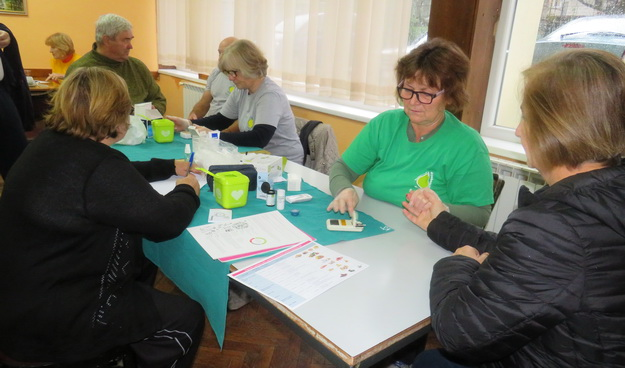 Udruga dijabetičara iz Kutine preventivnim pregledima obilježila Svjetski dan šećerne bolesti
