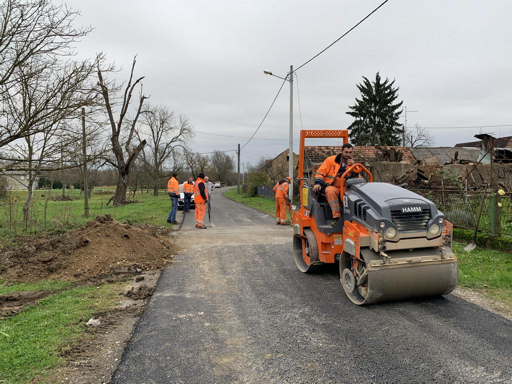 Naselje Žažina dobit će 800 metara novog asfalta